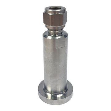 Picture of 6.3MM OD X 15NB CL2500 CONNECTOR LAPPED FLANGE SERRATED FINISH GYROLOK 316