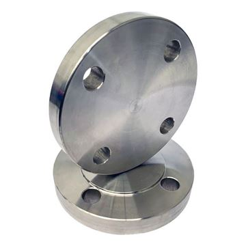 Picture of 80NB PN10-16 R/F BLIND FLANGE 316/L EN 1092-1