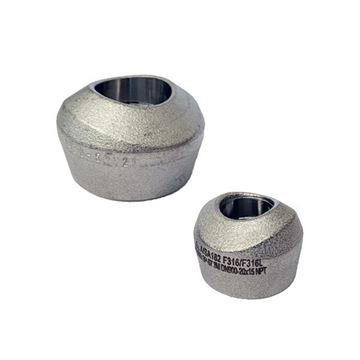 Picture of 25NPTX900-50 CL3000 THREADED BRANCH OUTLET 316/L