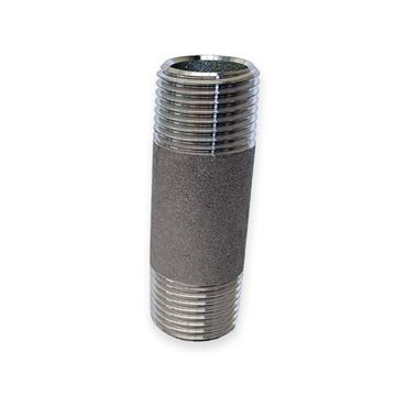 Picture of 15X120L SCH40S PIPE NIPPLE TBE/NPT ASTM A403 WP316