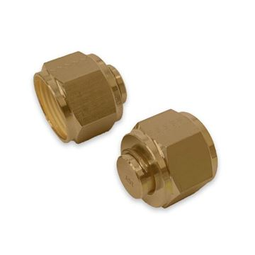 Picture of 19.1MM OD TUBE PLUG GYROLOK BRASS