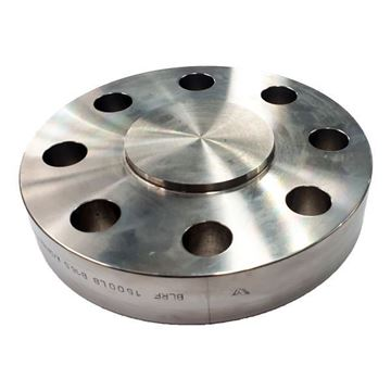 Picture of 40NB CL1500 R/F BLIND FLANGE ASTM A182 F316L