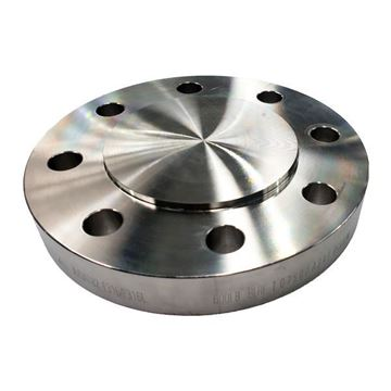 Picture of 40NB CL600 R/F BLIND FLANGE ASTM A182 F316L