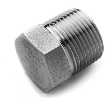 Picture of 8NPT HEXAGON HEAD PLUG 316