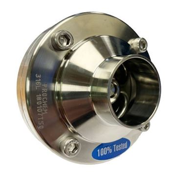 Picture of 76.2 NON RETURN VALVE 316 FLANGE TYPE BUTTWELD ENDS