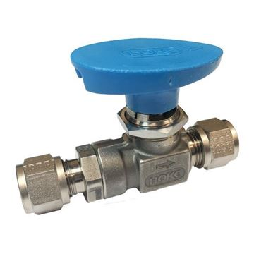 Picture of 6.3 OD TUBE 1500PSI BALL VALVE FORGED BODY MONEL UNS N04400 FLOMITE HOKE