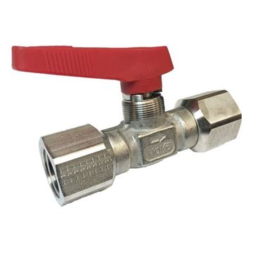 Picture of 15NPT FEMALE 6000PSI BALL VALVE FORGED BODY 316 FLOMITE